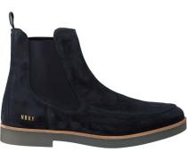 Blaue Nubikk Chelsea Boots Logan Bond