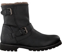 Schwarze Panama Jack Ankle Boots Faust Igloo C18
