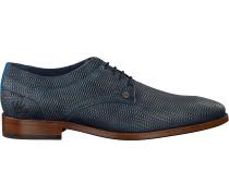 Blaue Rehab Business Schuhe Brad Weave