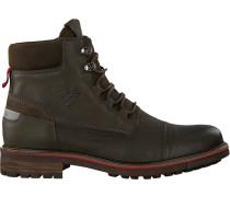 Grüne Ankle Boots Newea High TMB M