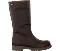 Braune Panama Jack Hohe Stiefel Bambina B82