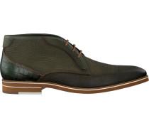 Grüne Braend Business Schuhe 24508