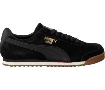Schwarze Puma Sneaker Roma Natural Warmth