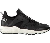 Schwarze Iceberg Sneaker Fiu913