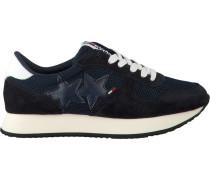 Blaue Sneaker Tommy Jeans Star Sneaker