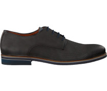 Graue Van Lier Business Schuhe 1855600