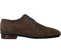 Braune Floris Van Bommel Business Schuhe 14058