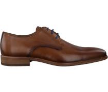 Cognacfarbene Braend Business Schuhe 16086