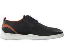 Blaue Van Lier Business Schuhe 1918705