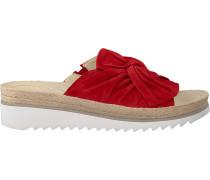 Rote Gabor Pantolette 729