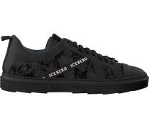 Schwarze Iceberg Sneaker Iu1036C