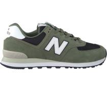 Grüne New Balance Sneaker Ml574
