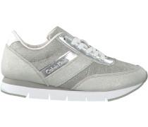 Silberne Calvin Klein Sneaker TEA