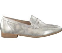 Silberne Gabor Loafer 444