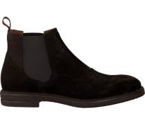 Braune Greve Chelsea Boots German
