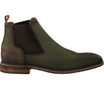 Grüne Braend Chelsea Boots 24601