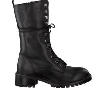 Schwarze PS Poelman Biker Boots 13495
