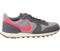 Graue Nike Sneaker Internationalist Wmns