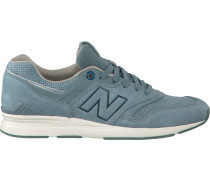 Blaue New Balance Sneaker Wl697G WMN