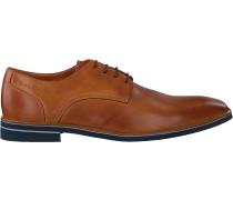 Cognacfarbene Van Lier Business Schuhe 1913511