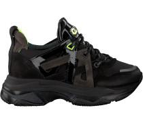Schwarze Bronx Sneaker Baisley