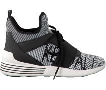 Schwarze Kendall & Kylie Sneaker Kkbraydin