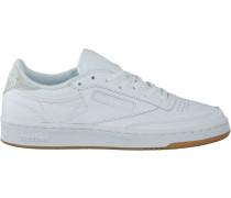 Weiße Reebok Sneaker Club C 85 WMN