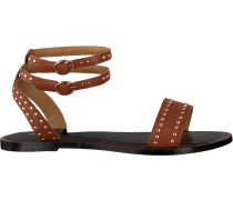 cognac Dune London shoe Lagoma