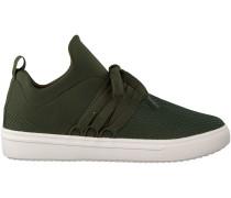 Grüne Steve Madden Sneaker Lancer
