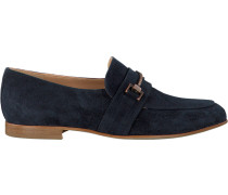Blaue Fred de la Bretoniere Loafer 120010016