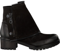 Schwarze Omoda Biker Boots 1027