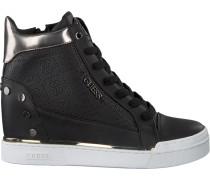 Schwarze Guess Sneaker Finly
