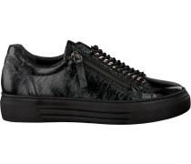 Schwarze Gabor Sneaker 466