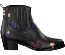 Schwarze Stiefeletten Georgia Boot