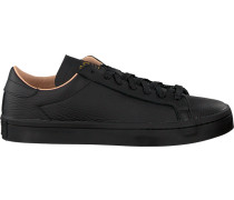 Schwarze Adidas Sneaker Courtvantage Heren