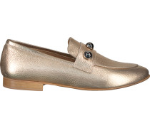 Goldfarbene Omoda Loafer El04