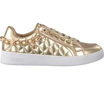Goldfarbene Guess Sneaker Flrnn2 Lel12