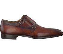Cognacfarbene Magnanni Business Schuhe 18724