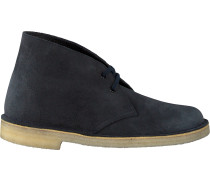 Blaue Clarks Ankle Boots Desert Boot Dames