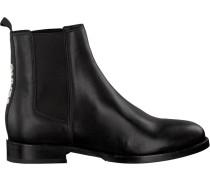 Schwarze Tommy Hilfiger Chelsea Boots En0En00260