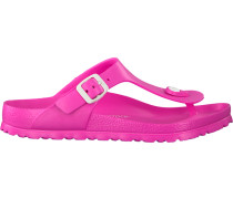 pink Birkenstock Papillio shoe Gizeh EVA