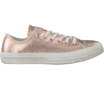 Goldfarbene Converse Sneaker AS Metallic