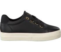 Schwarze Gant Sneaker Amanda