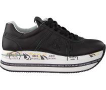 Schwarze Premiata Sneaker Low Beth