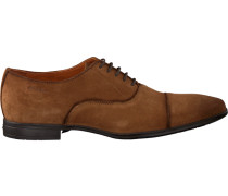 Cognacfarbene Van Lier Business Schuhe 6052