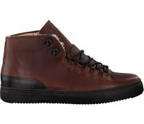Braune Blackstone Sneaker Om73