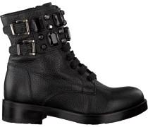 Schwarze Tosca Blu Shoes Schnürstiefel Sf1710S200