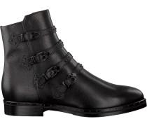 Schwarze Maripe Stiefeletten 25061