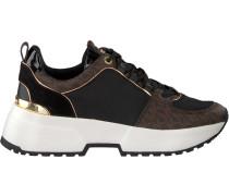 Braune Michael Kors Sneaker Cosmo Trainer