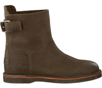 Grüne Shabbies Ankle Boots 181020020